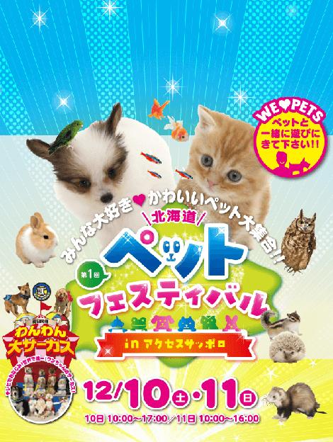 「北海道ペットフェスティバル」開催!