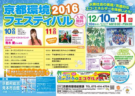 「京都環境フェスティバル2016」開催!