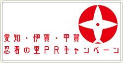 「愛知・伊賀・甲賀 忍者の里PRキャンペーン」開催!